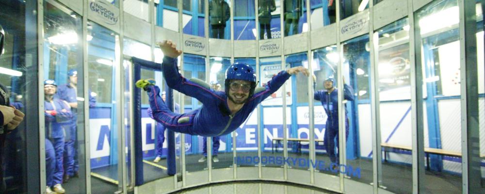 Indoor skydive Roosendaal review | AdventureTickets.nl