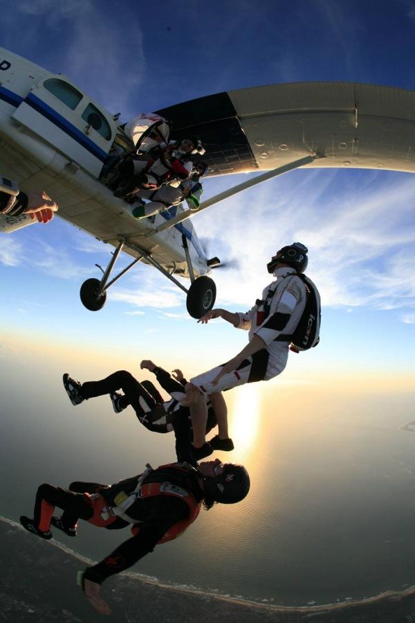 1 week skydive vakantie AFF Mimizan, Frankrijk