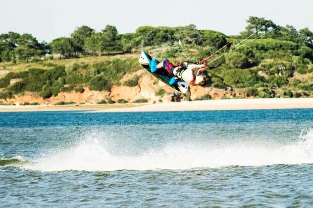 2 dagen gevorderde Kitesurfles Aljezur Algarve Portugal