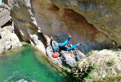 1 dag canyoning Salou Spanje