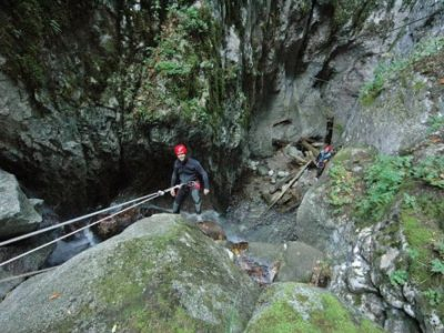 Canyoning Val di Sol Trentino Italië