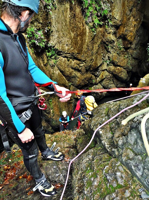 1 dag Advanced Canyoning León Spanje