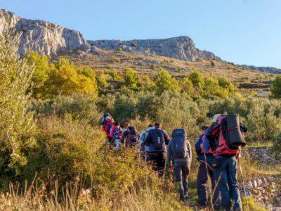 1 dag Trekking Mosor Kroatië