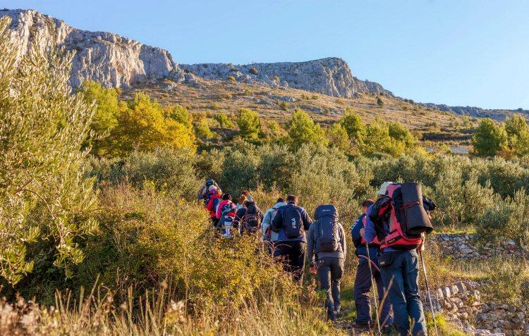 1 dag Trekking, Mosor Kroatië cover