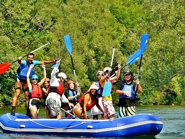 Rafting in Kroatië boek je bij Adventuretickets.nl