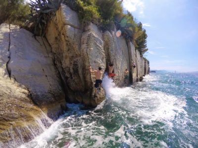 Cliff Jumping Kasjuni Cliffs vanuit Split Kroatië