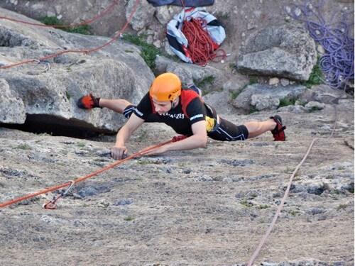 2 uur Rock climbing Montanejos Valencia