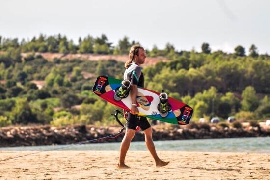 1 dag Kitesurfles Aljezur Algarve Portugal
