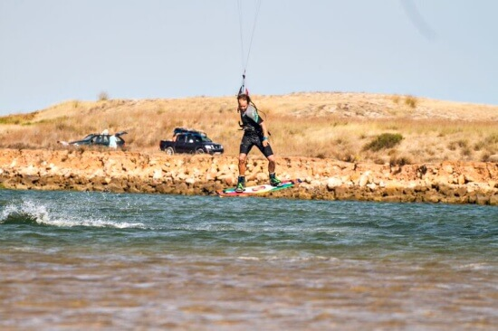 3 daagse beginnerscursus Kitesurfen Aljezur Algarve Portugal
