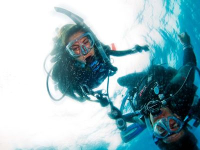 Vrij duiken Padi Fun Dives Gran Canaria