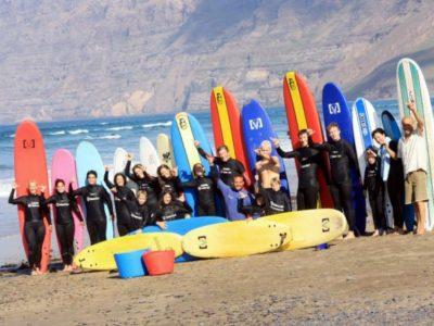 1 dag Surfles Lanzarote