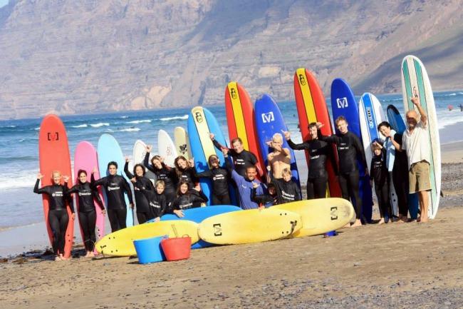 1 dag Surfles Lanzarote Spanje