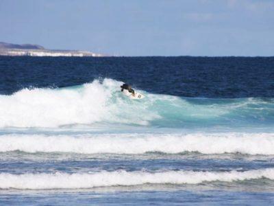 1 dag surfari eiland surftrip Lanzarote