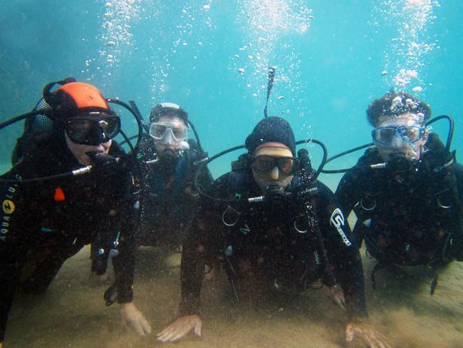 Vrij duiken (PADI) incl. materiaal Lanzarote
