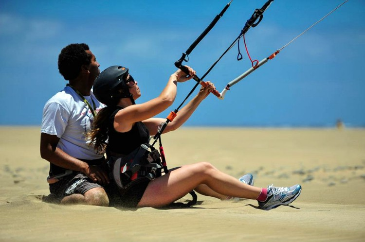 1 dag IKO kitesurfles Gran Canaria
