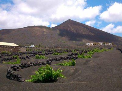 6 uur hiken inclusief wijnproeverij La Geria Lanzarote