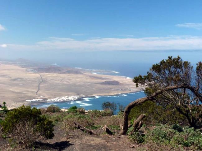 6 uur hiken North Face Lanzarote