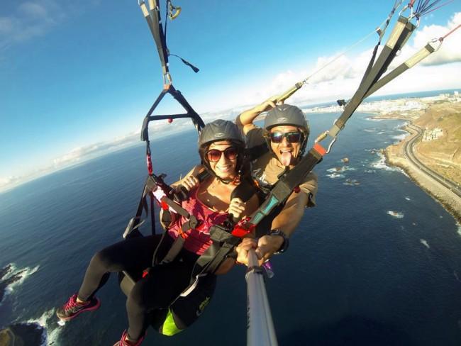 Tandemvlucht Paragliden Las Palmas Gran Canaria