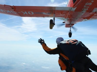 Skydive Tandemsprong Praag