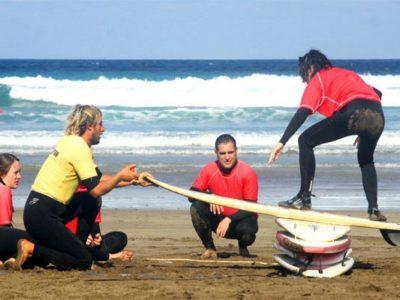 5 dagen Surfles Lanzarote