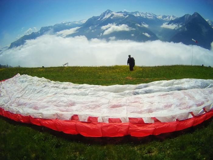 Paragliden Tandemvlucht Mayrhofen Oostenrijk