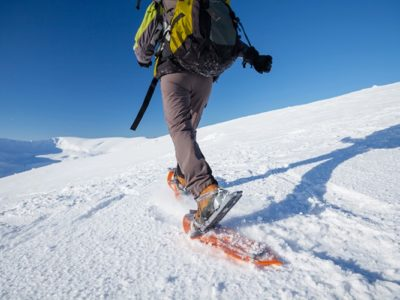3 uur sneeuwschoen hike Tromsø Noorwegen