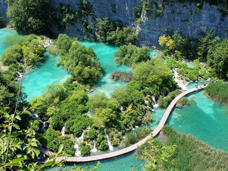 Wandeltocht met gids Plitvice Nationaal Park Kroatië cover