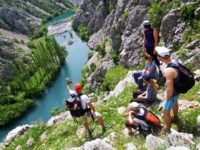 Dag Trekking Krupa Canyon vanuit Kaštel Žegarski Kroatië