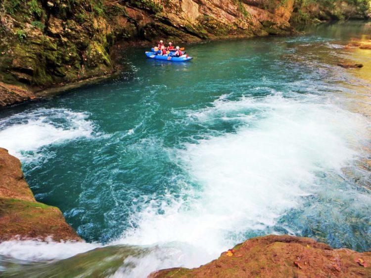Kajakken Mreznica Canyon Grabovac Kroatië