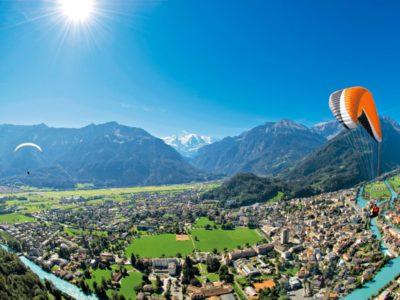 Paragliden Tandemvlucht Interlaken