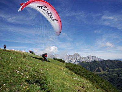 Paragliden Tandemvlucht Salzburg