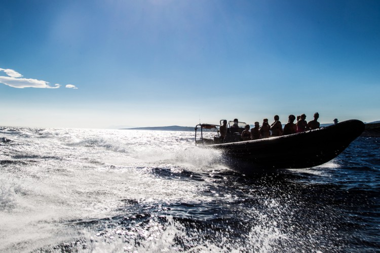 6 Eilanden speedboottocht Blue Cave met lunch en wijnproeverij cover