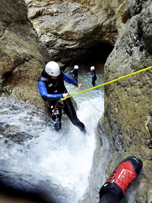 Advanced Canyoning Allgäu Duitsland