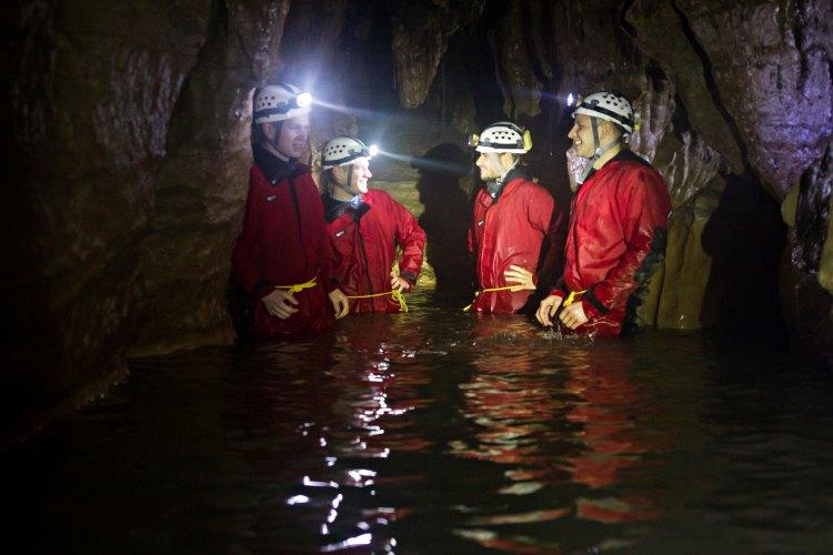 Caving Allgaü Zuid Duitsland