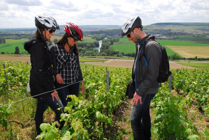 E-bike fietstocht Champagne Regio vanuit Parijs Frankrijk