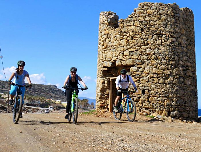 Mountainbike Malia - Milatos Tocht Kreta