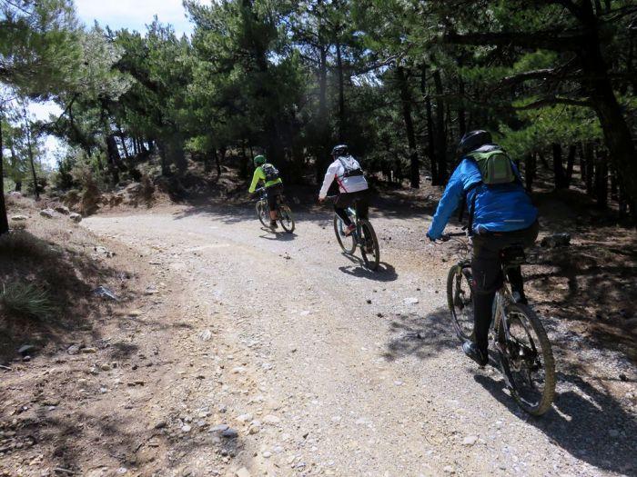 Mountainbike Katharo - Kroustas Kreta