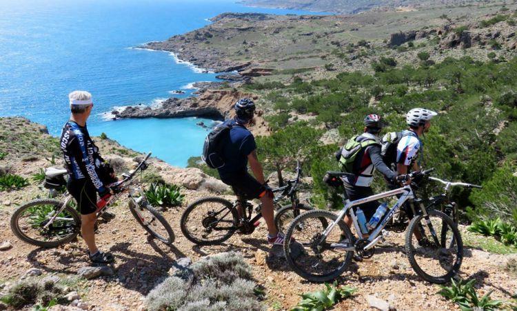 Mountainbike Koudouma Klooster Kreta