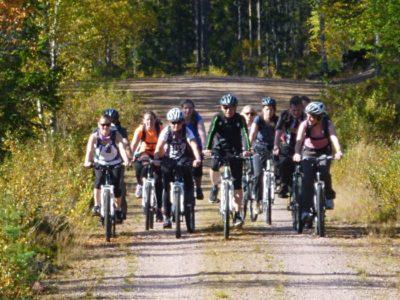 Mountainbike Tocht Sörsjön Dalarna centraal Zweden
