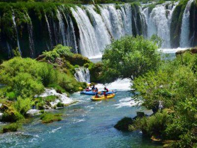 Driedaagse kajak expeditie Zrmanja rivier Kroatië