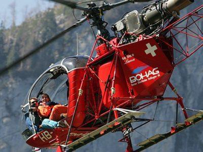Helikopter Skydive Lauterbrunnen Zwitserland
