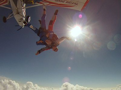 Skydive Interlaken Zwitserland