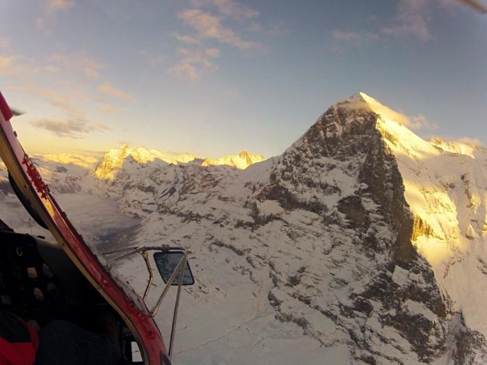 Helikopter Skydive Grindelwald Zwitserland