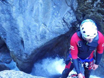 Basic Canyoning Warth Tirol Oostenrijk