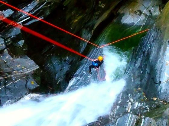 Expert Canyoning Warth Tirol Oostenrijk