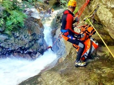 Advanced Canyoning Warth Tirol Oostenrijk