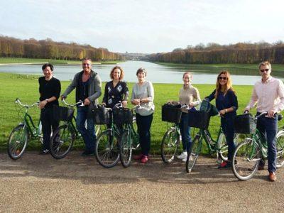 1 dag fietstocht met gids Versailles Frankrijk