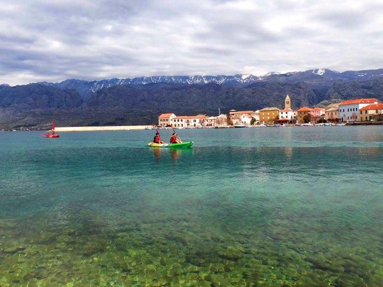 Zeekajakken Vinjerac vanuit Starigrad Paklenica