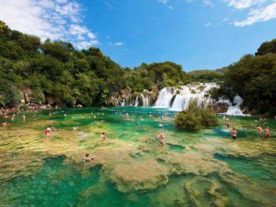 Wandeltocht Krka Nationaal Park Kroatië