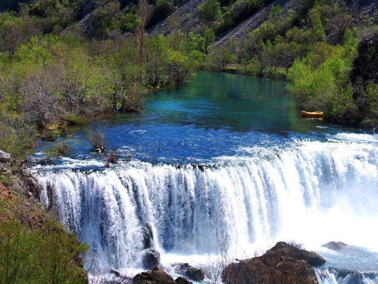 Raften Zrmanja Rivier Kroatië